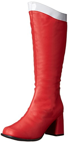 Ellie Shoes Women's 300 Super Boot, Red/White, 9 M US]()