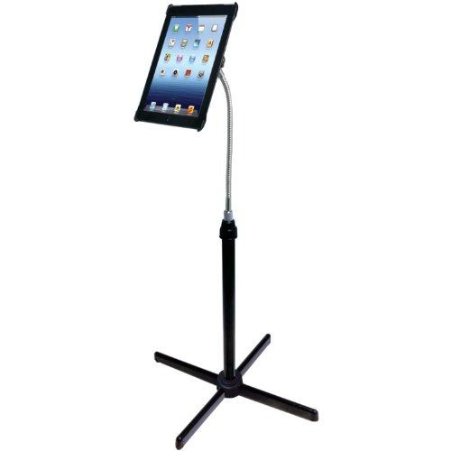 Pedestal Floor Stand (CTA Digital Height-Adjustable Gooseneck Floor Stand for iPad 2nd-4th generation)