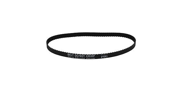 uxcell 210 x l 105 Dientes Paso a Paso Correa Dentada Geared-Belt ...