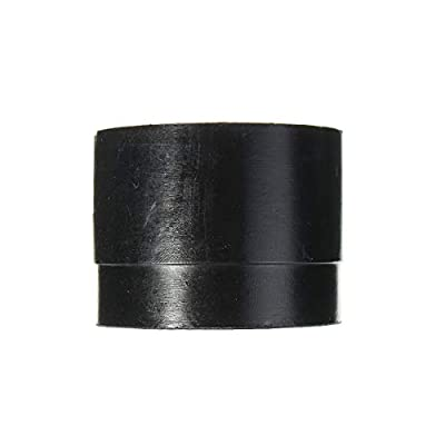 Sala-Ctr - 2pcs Car Rubber Pad Hydraulic Black Jack Disk Slotted Frame Rail Floor Car Jacks Tool