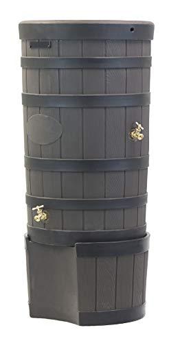 - Good Ideas RW-2SD050-OAK Wizard American Darkened Ribs and Stand-Oak Rain Barrel