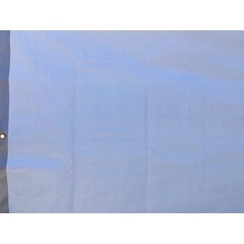 Kotap TUH-2030 Finished Size Ultra Heavy-Duty 8 oz//16-mil Poly Tarp Reversible Silver//White 20 x 30