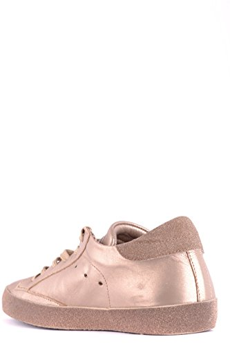 Philippe Model Damen Mcbi238076o Goud Leder Sneakers