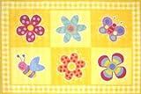 Flowerland OLIVE KIDS 39 x 58 Area Rug
