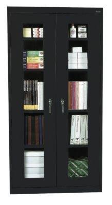 Sandusky Lee CA4V362472-09 Elite Series Clear View Storage Cabinet, 24