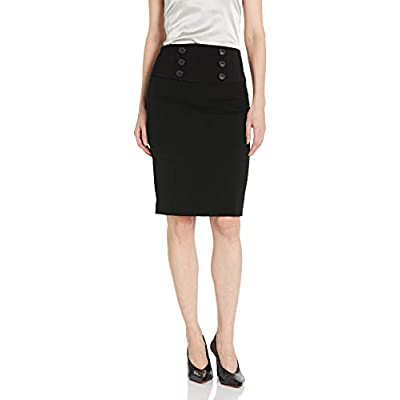 A. Byer Junior's Suiting Pencil Skirt: Clothing
