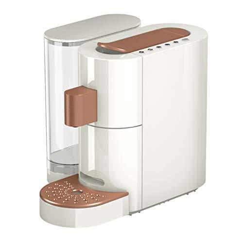 K-Fee Twins II Verismo Pod Compatible Single Serve Coffee/Espresso Machine (Cream/Rose)