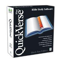 QuickVerse Bible Study Black Box Edition (Mac)