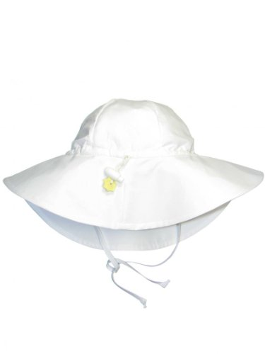 Iplay Brim Hat-White-6/18mo