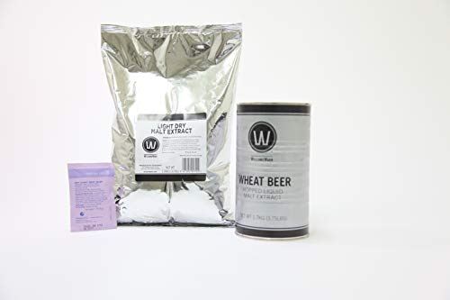Premium Wheat Beer No Boil Complete Beer Kit, Makes 5-6 gallons