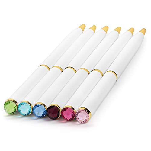 Fancy Pens for Women | Set of 12 Colorful Diamond Pens | Perfect Gift for Teachers, Girls, Women -