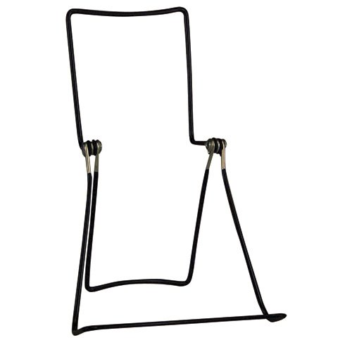 "Black - Double Deck Wire Easel - 7-3/4""H x 5-5/8""W - 2 pack"