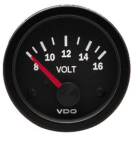 Prime Amazon Com Vdo 332 103D Voltmeter Gauge Automotive Wiring Digital Resources Hetepmognl