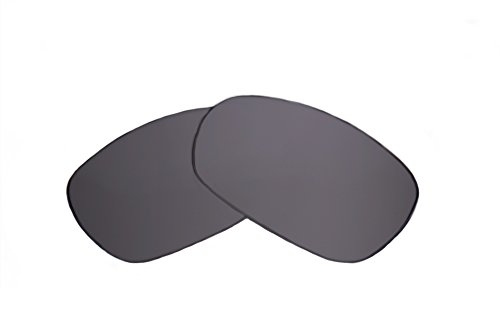 SFx Replacement Sunglass Lenses fits Oakley Gauge 8 OO4124 62mm Wide (Ultimate Silver Mirror Black ()