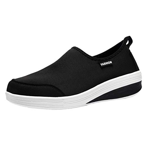 (Londony ♪✿ Clearance Sales,Women's Lightweight Casual Slip-On Walking Athletic Sport Shoe Breathable Sneakers)