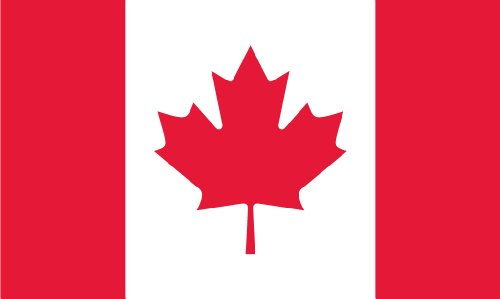 Shoe String King SSK Canada Outdoor Flag - Large 3' x 5', We