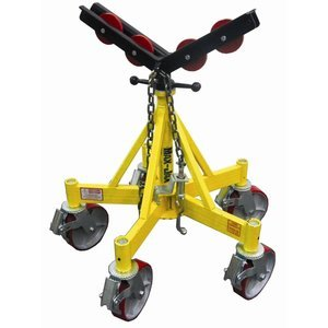 Sumner Manufacturing 781403 Max Jax Kit Includes Basic Stand Roller Head Kit And Casters 2 500 Lb Capacity
