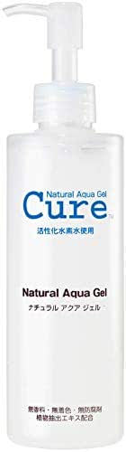 TOYO - CURE: Natural Aqua Gel, Water Skin Exfoliator for All Skin Types (8.5 oz - 1 Pack)