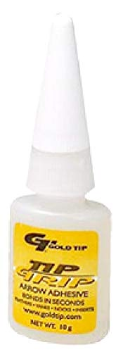 Gold Tip Tip Grip Adhesive Bottle, 20gm