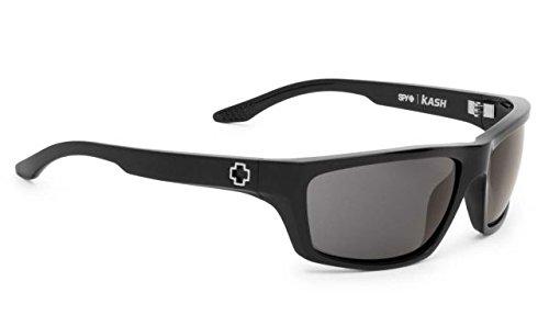 Spy Optics Dirty Mo Sunglasses (Black w/ Signature Grey - Mo Polarized Sunglasses Dirty