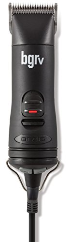 Andis 5-Speed Hair Clipper with Detachable Blade Kit, Black, Model BGRV (63100) by Andis