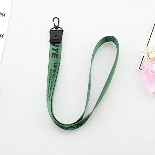 Keychains Off White Keychain Ribbon key chain ... - Amazon.com