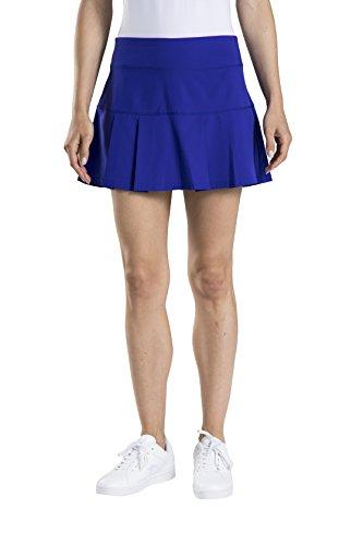 Prince Tennis Apparel - Prince Women's Stretch Woven Pleated Tennis Skort, Purple Dahlia, Medium