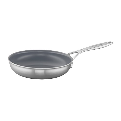 (Demeyere Industry 5-Ply 8-inch Stainless Steel Ceramic Nonstick Fry Pan )