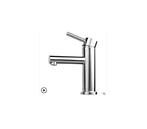 Stainless Steel Basin, Basin, Hot and Cold Water Faucet, Washbasin, Toilet, Single Single Hole Faucet.
