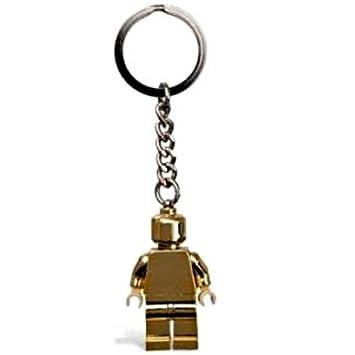LEGO Clásico: Oro Minifigura Llavero: Amazon.es: Juguetes y ...