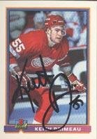 Keith Primeau Detroit Red Wings 1991 Bowman Autographed Card - Rookie Card. This item comes with a certificate of authenticity from Autograph-Sports. Autographed