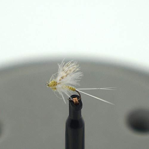 - FidgetFidget Alltimes 12pcs Sierra Bright,CDC,Compara-May,Headlight Caddis Dry Fishing Flies CDC Comparadun, PMD #20