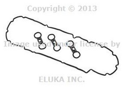 BMW Genuine Engine Cylinder Head Valve Cover Gasket Set for 528i 528xi X5 3.0si 128i X3 3.0i X3 3.0si Z4 3.0i Z4 3.0si Z4 3.0si 128i Z4 30i 323i 328i 328xi 323i 328i 328xi 328i 328xi 328i 328xi 328i 328xi 328i 328xi 328i 328i 528i X3 28iX (Bmw X5 Engine Cover compare prices)