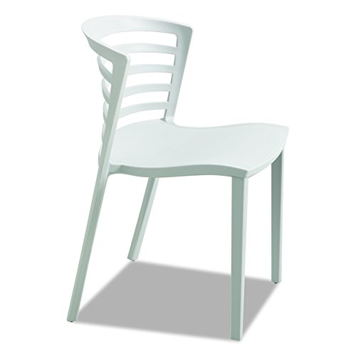 Safco Products 4359GR Entourage Stack Chair, Gray