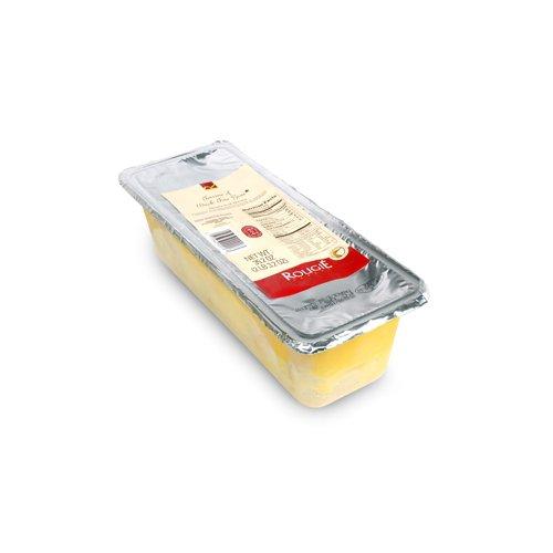 Rougie Block of Duck Foie Gras in Terrine Container - 2.2 lbs