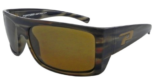 Pepper's Eyeware Man-O-War LP448-5 WOODY TORTOISE Polarized - War Sunglasses Man O