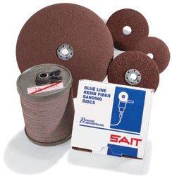 7A-S 5 X 7//8 United Abrasives-SAIT 59021 Economical Ceramic Fiber Disc 100 Per Box 50 Grit