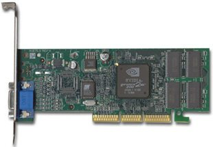 GATEWAY - Gateway Nvidia GeForce2 32MB MX200 Card AGP 6002023 NV875.0 Rev B from Gateway