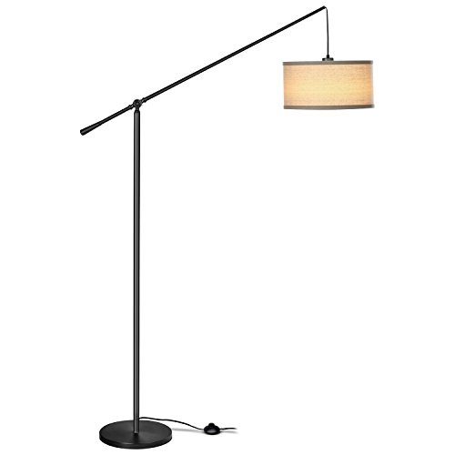 Hanging Reading Light: Brightech Hudson LED Arc Arm Floor Lamp