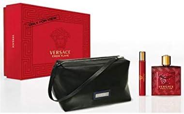 Confezioni Regalo Profumi Maschili Gianni Versace Eros flame eau de parfum 100 ml set regalo - 100 ml + 10 ml