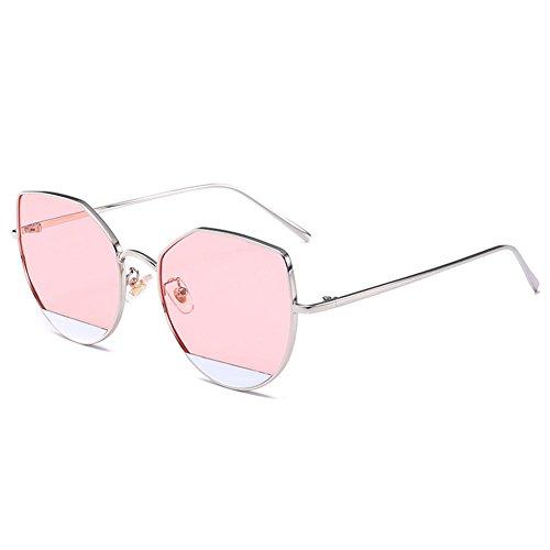 sol y personalidad NIFG europeas americanas la de m de multicoloras gato alta de gafas calidad 55m 140 Gafas de sol de reflexivas B ojo 147 del faEaxq