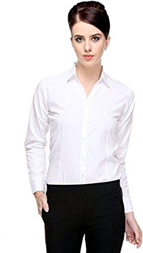 Adelina Casual Full Sleeves Rayon Shirt for Women