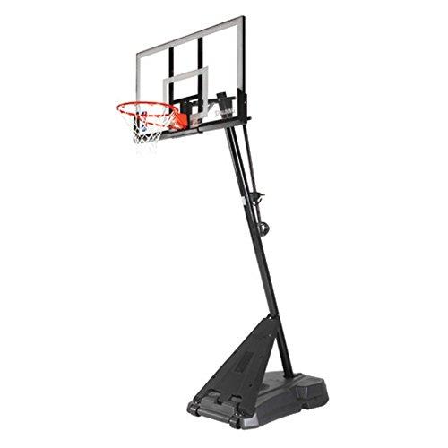 Spalding NBA Hercules Portable Basketball Hoop – 54″ Acrylic Backboard – DiZiSports Store