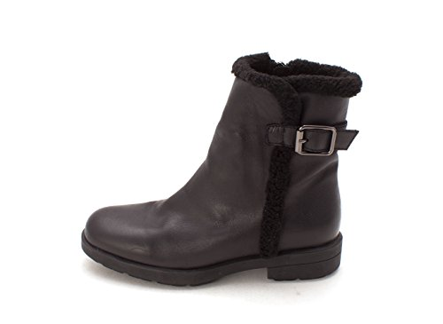 Aquatalia Womens Lorna Round Toe Ankle Cold Weather Boots, Black, Size 6.0