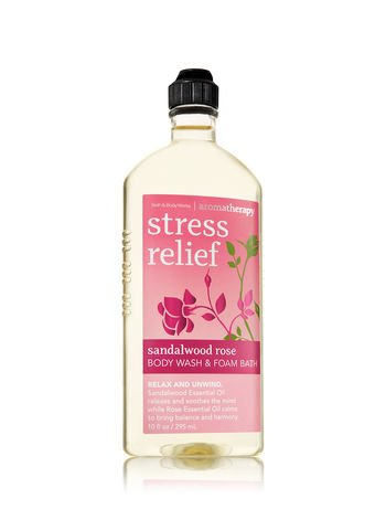 SANDALWOOD ROSE Aromatherapy Body Wash & Foam Bath 2015 10 fl oz / 295 mL