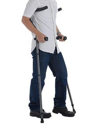 【非課税】プロトワン 折りたたみ松葉杖 ミレニアルプロ レギュラーサイズ 左右組 チャコールグレー B001OGJUP0 チャコールグレー チャコールグレー