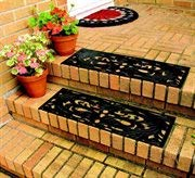 Rubber Step Guards/Stair Mats- Set of 2 ()