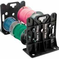 Rack-A-Tiers 2 Piece Multi-Purpose Wire Dispenser Stands, Outdoor Stuffs