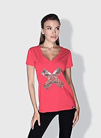 Creo Abu Dhabi X City Love T-Shirts For Women - M, Pink