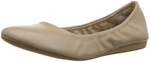Bandolino Women's Fadri Ballet Flat, Cafe Latte, 9 M US Bandolino Leather Flats